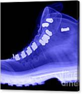 X-ray Of A Hiking Boot Canvas Print