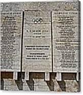 Xi. Olympic Games 1936 - Berlin Canvas Print