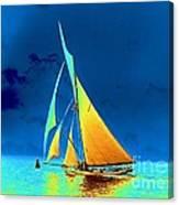 Yacht Gloriana 1891 Canvas Print