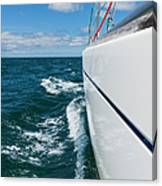 Yacht Lines Canvas Print