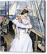 Yachting Costume, 1894 Canvas Print