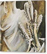Yaddo Wheat Canvas Print