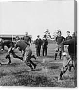 Yale: Football Practice Canvas Print