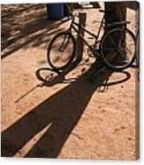 Yalva Sanga Bicycle Canvas Print