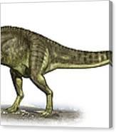 Yangchuanosaurus Shangiouensis Canvas Print