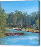 Yarra River Warrandyte Canvas Print