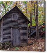 Ye Olde Shed Canvas Print