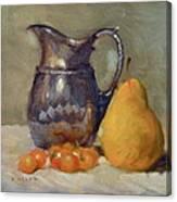 Yellow And Orange Canvas Print