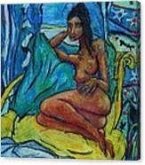 Yellow Chair 98 Canvas Print
