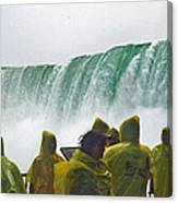 Yellow Coats Two Canvas Print