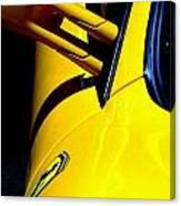 Yellow Ferrari Canvas Print
