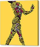 Yellow Haring Canvas Print