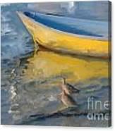 Yellow Panga Canvas Print
