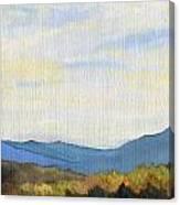 Yellow Ridge Canvas Print