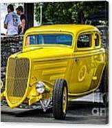 Yellow Rod Canvas Print