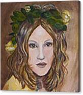 Yellow Rose I I Canvas Print