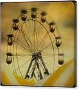 Yellow Seats Canvas Print