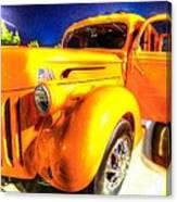 Yellow Truck 2 Canvas Print