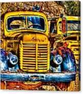 Yellow Trucks Canvas Print