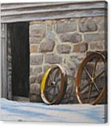 Yellow Whell Canvas Print