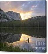 Yellowjacket Lake Canvas Print