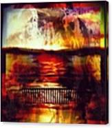 Yellowstone Hell (billirubin Remix) Canvas Print
