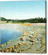 Yellowstone: Hot Spring Canvas Print