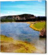 Yellowstone Landscape Canvas Print