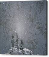 Yellowstone National Park, Winter View Canvas Print