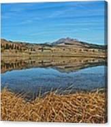 Yellowstone Reflections 9437 Canvas Print