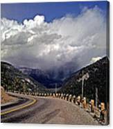 Yellowstone Under Lowering Skies Canvas Print