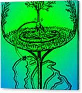 Yggdrasil From Norse Mythology Canvas Print