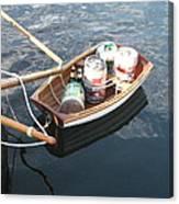 Yo Ho Ho And A Skiff Full Of Beer Canvas Print