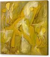 Yo Yo Gold Canvas Print