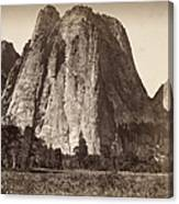 Yosemite: Cathedral Rock Canvas Print
