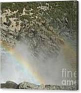 Yosemite Falls Rainbow Canvas Print