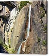 Yosemite Falls Rainbow Canvas Print