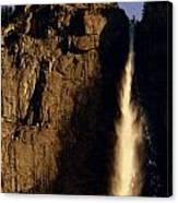 Yosemite Falls Winter Morn' Canvas Print