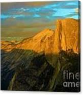 Yosemite Golden Dome Canvas Print