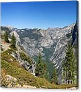Yosemite Half Dome Canvas Print