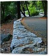 Yosemite Walk Way Canvas Print