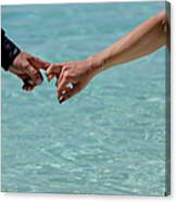 You And Me. Togetherness Canvas Print