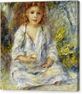 Young Algerian Girl Canvas Print