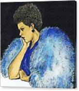 Young Billie Holiday Canvas Print