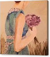 Young Girl Young Woman Canvas Print