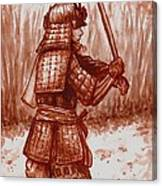 Young Warrior Canvas Print