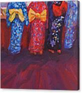 Yukates In Bloom Canvas Print