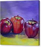 Yummy Apples Canvas Print
