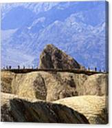 Zabriske Point Canvas Print