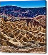 Zabriskie Point Panorama Canvas Print